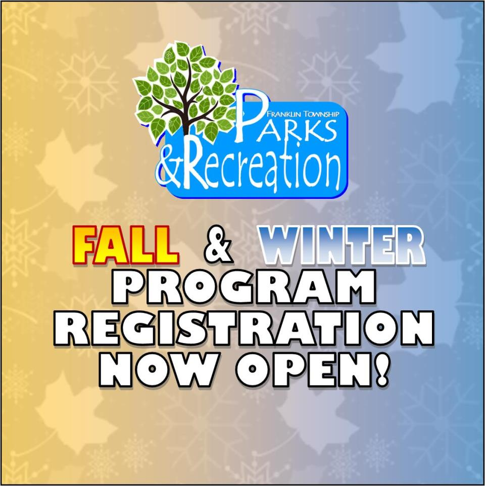 Fall-Winter 2017-2018 Registration Now Open