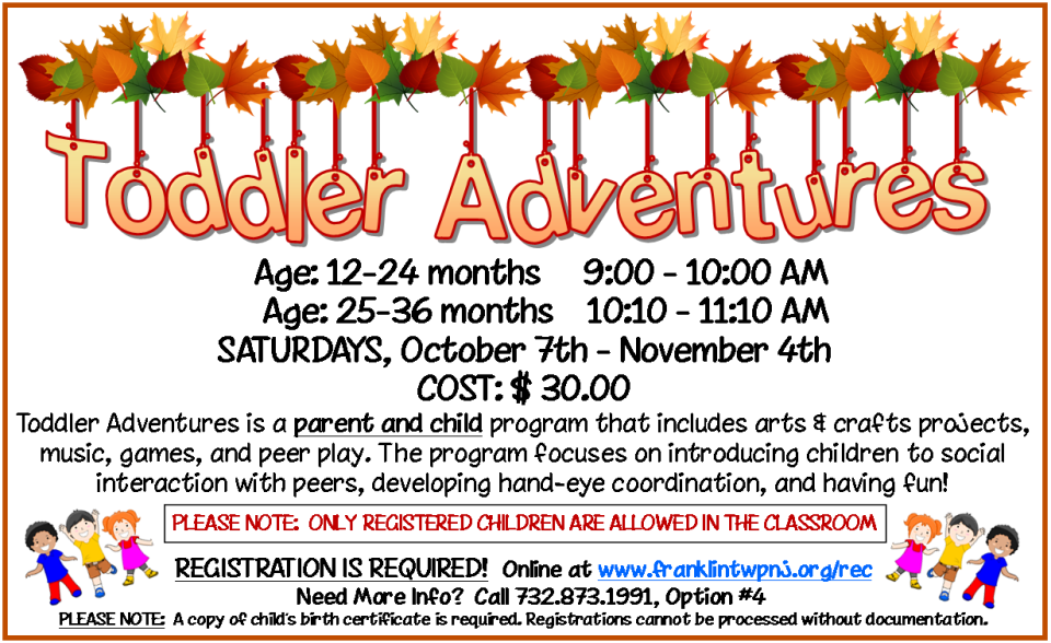 2017 Fall Toddlers Web-Newsletter Ad