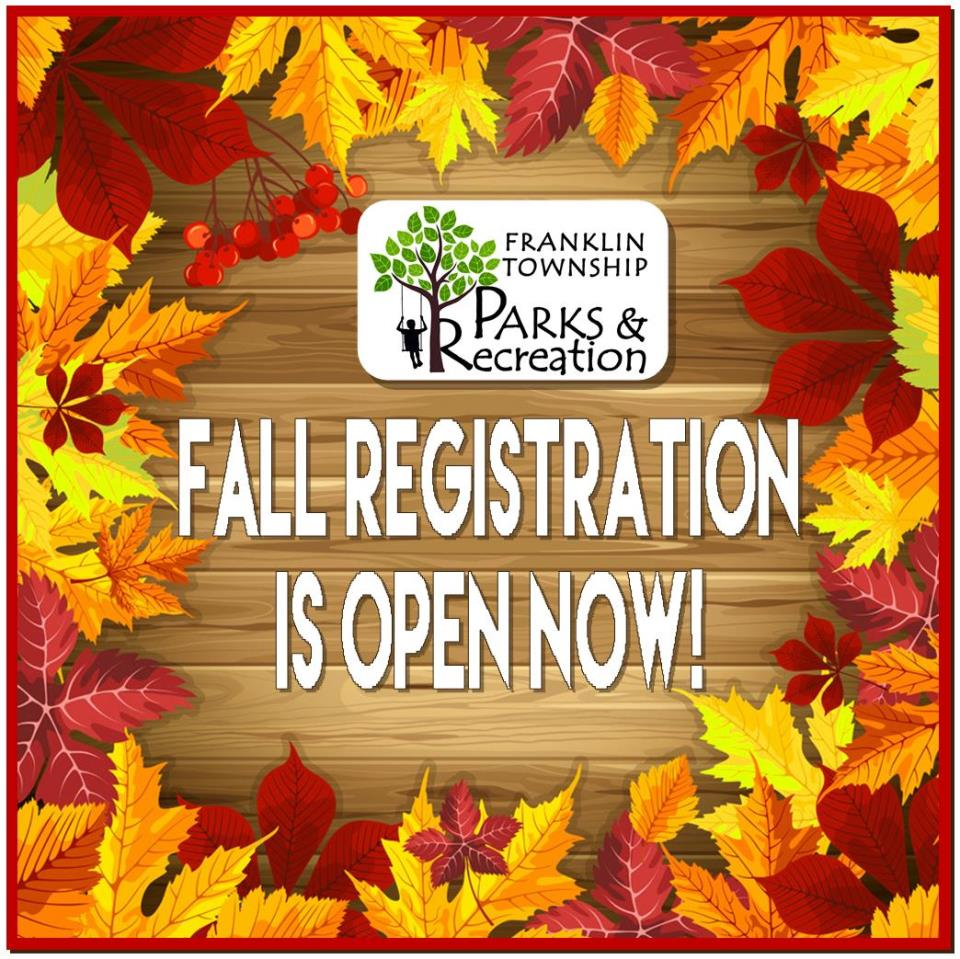 2018 Fall Registration Open Web Ad
