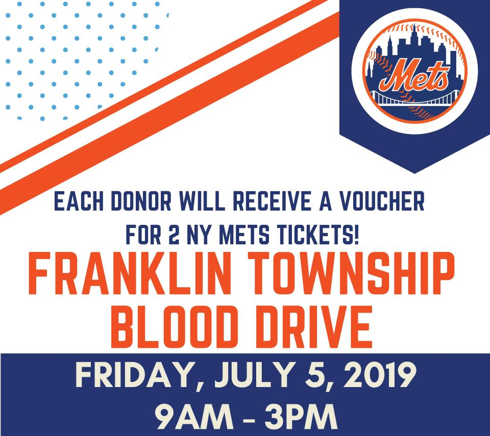 franklin July blood drive spotlight