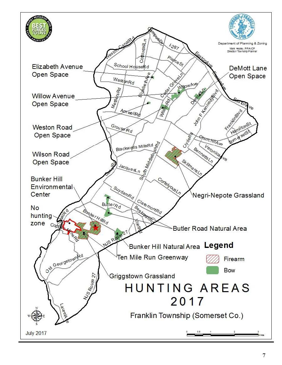 hunting areas