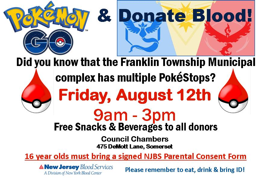 blood drive August