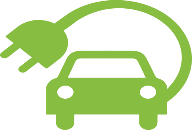 electric car logo