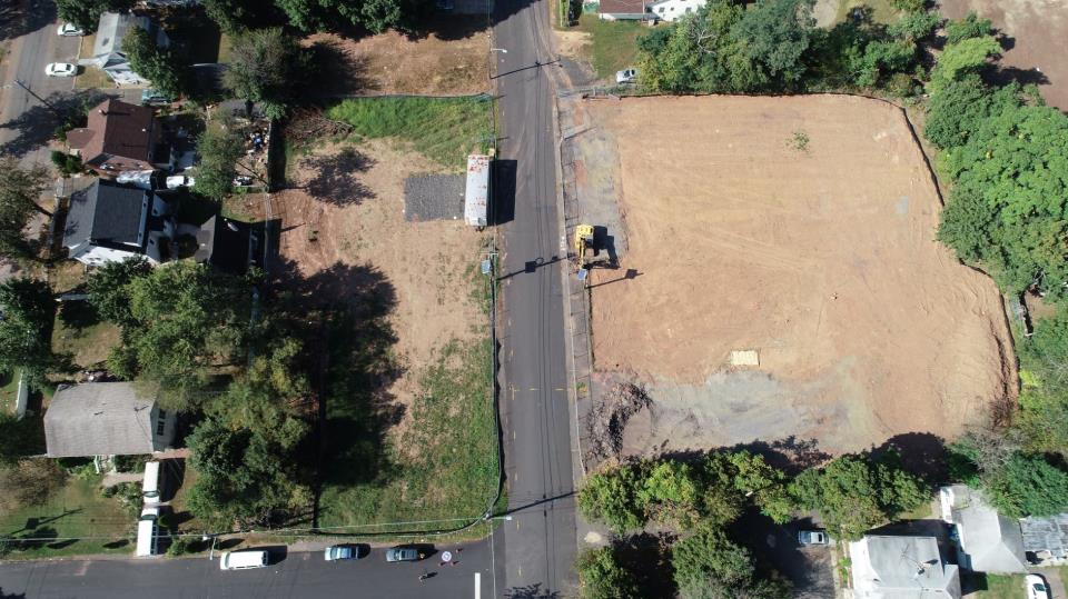 Aerial Cleared Double Lots
