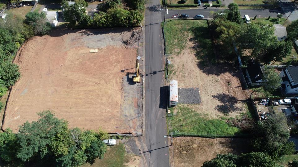 Aerial Cleared Double Lots 2