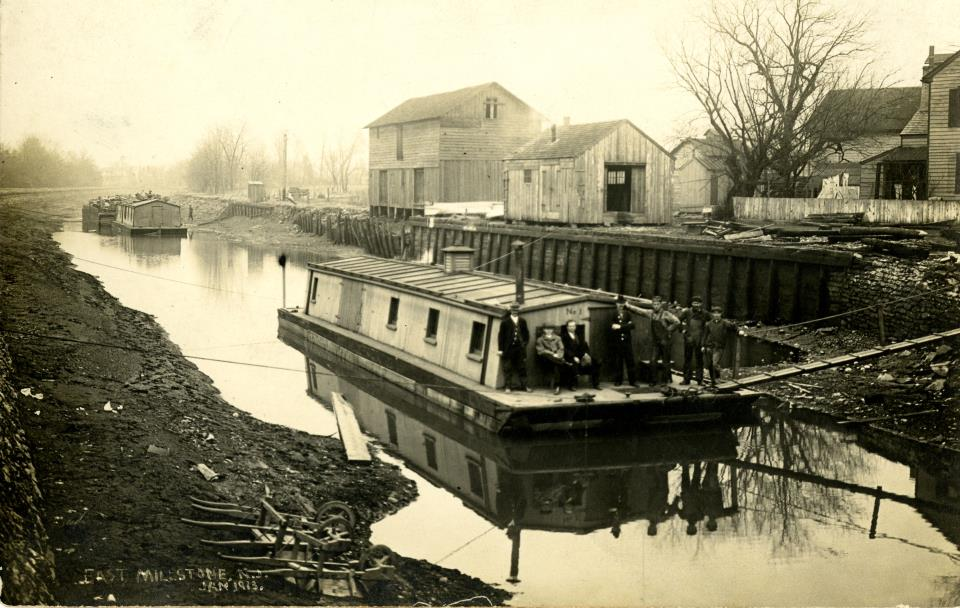 Canal Barges East Millstone