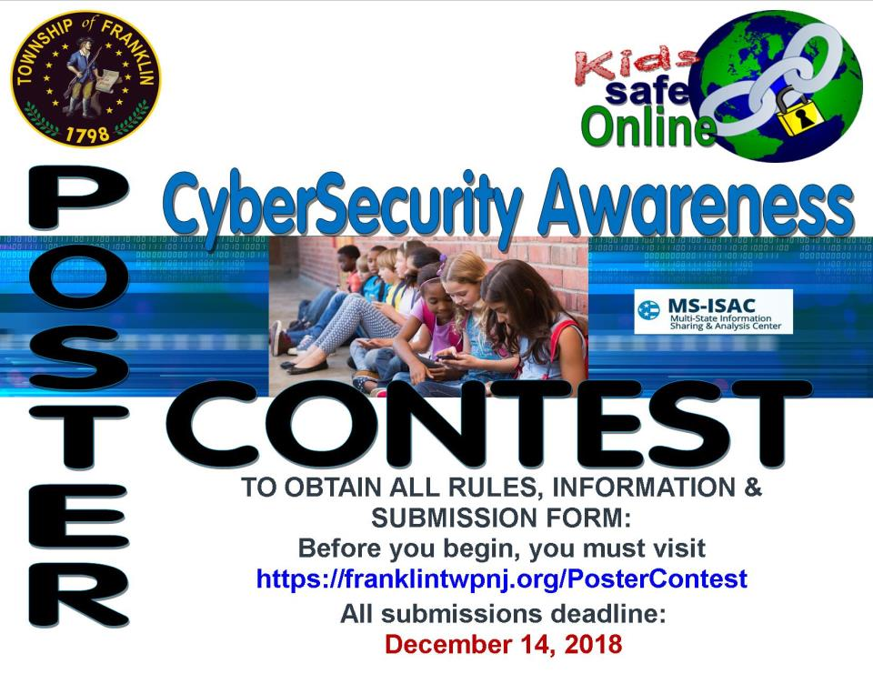 cyber security awareness poster contest