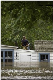 Flooding - Canal Tenders House
